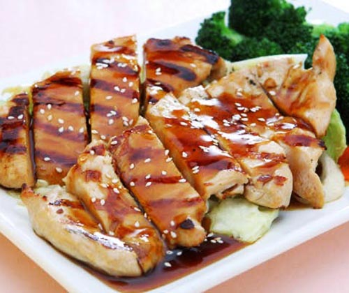 Chicken	(Teriyaki or Hibachi)